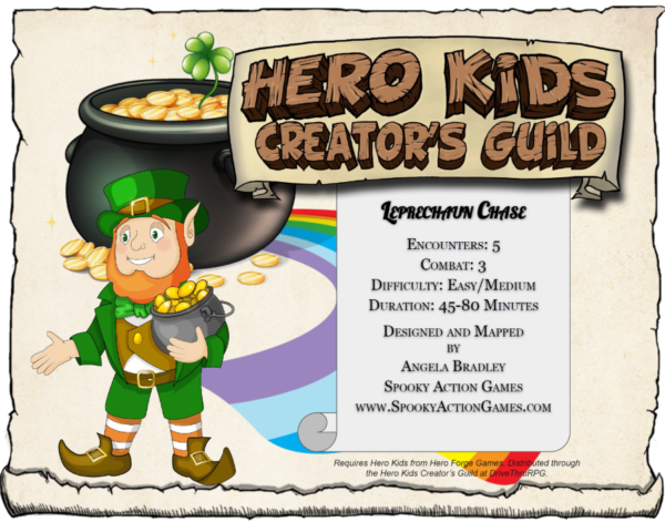 Hero Kids St Patricks day Adventure
