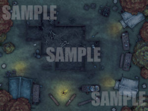 Dig Site TTRPG Map - Fantasy Grounds