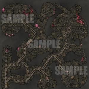 Mines Battlemap for D&D