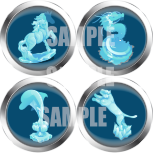 ice sculpture moster tokens