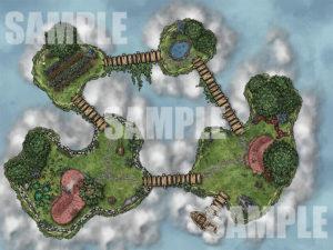 Sky Island Battlemap