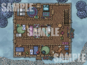 Inn encounter map for roll 20