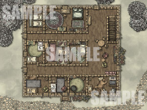 Cozy Inn battle map