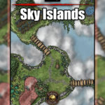 Sky Island D&D map cover