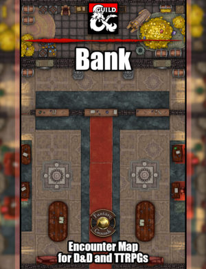 Bank battle encounter map
