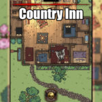 Country Inn D&D Battlemap