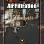 Air Filtration Sci-Fi TTRPG Map
