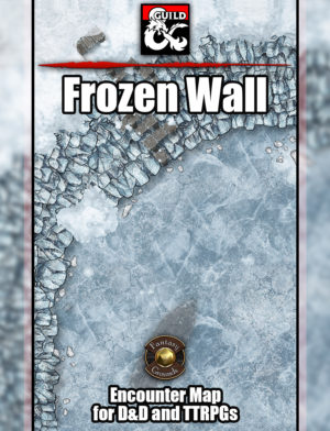 Frozen Wall TTRPG Map