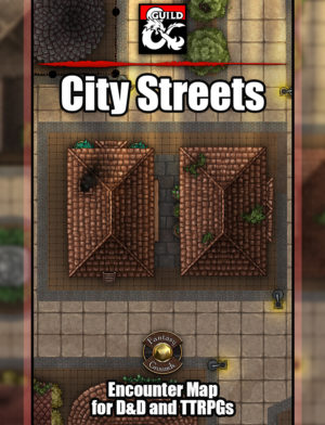 City Streets battle map