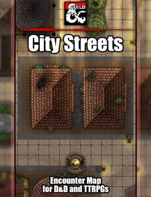 City Streets battle map