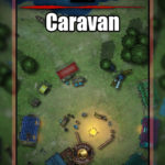 Caravan Battlemap for TTRPGs with Fantasy Grounds support