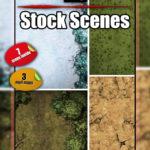 Random encounters battle maps