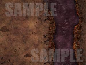 Avernus battle map for hell adventures in D&D