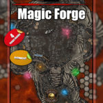 Magical forge blacksmith D&D encounter map pack with four maps