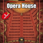 Opera house three map set for D&D encounters