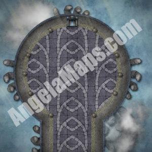 Sky throne D&D Battle map